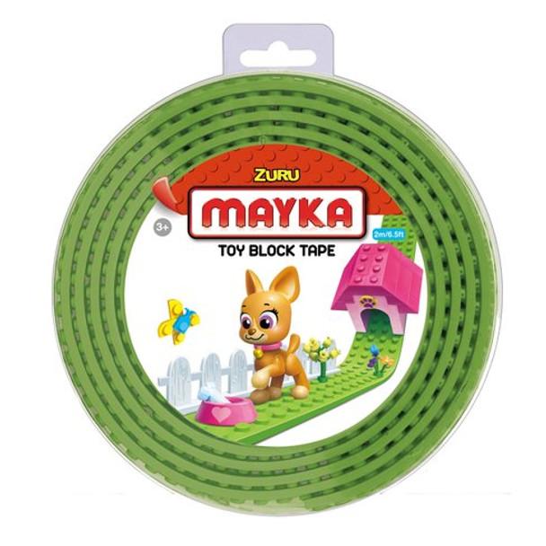 MAYKA Block Tape Light Green – 4 Stud Roll 2m