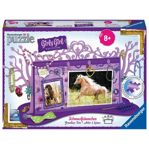 Ravensburger Horse Jewellery Tree 3D - 108 piece