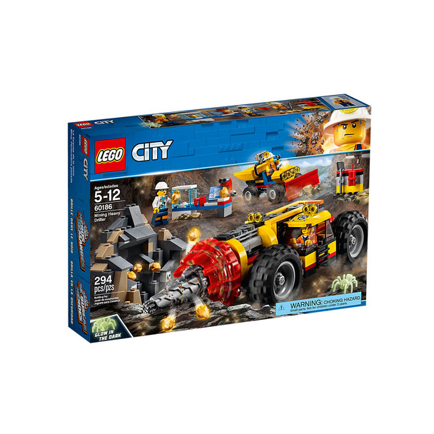 LEGO® City 60186 Mining Heavy Driller