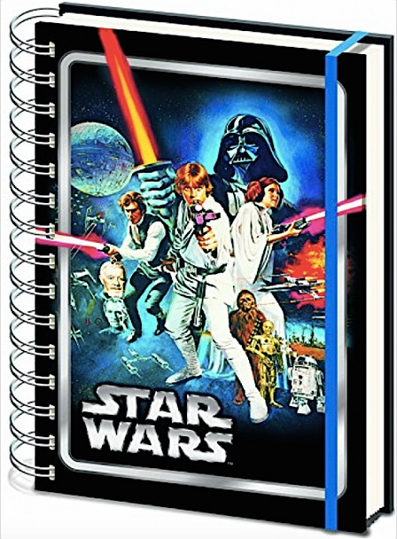 Star Wars Classic A New Hope Notebook - A4 Spiral