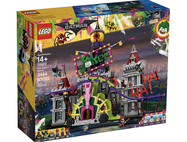 LEGO Batman 70922 The Joker Manor