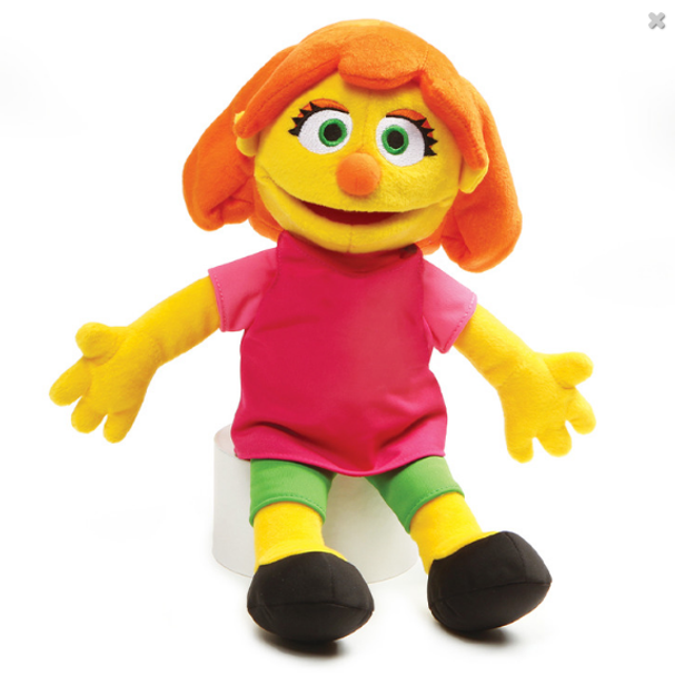 Sesame Street Julia by Gund