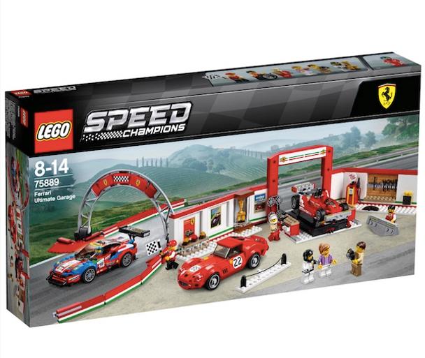 Lego Speed Champions 75889 Ferrari Ultimate Garage