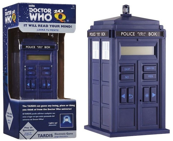 Doctor Who Tardis 20Q Game