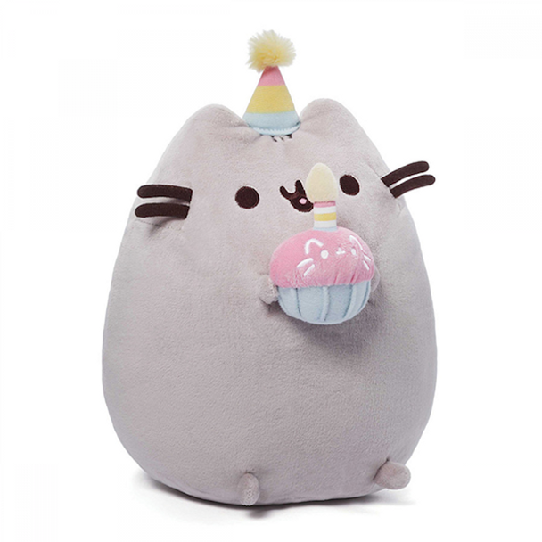 Pusheen Birthday Plush by GUND