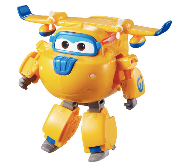 Superwings Transforming Donnie Plane