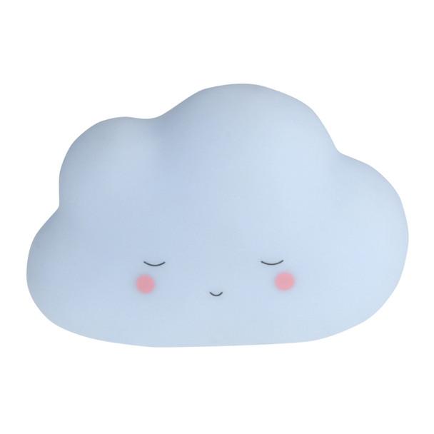 Little Dreams Blue Cloud Night Light - Medium 20cm