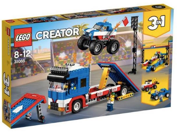 LEGO® Creator 31085 Mobile Stunt Show