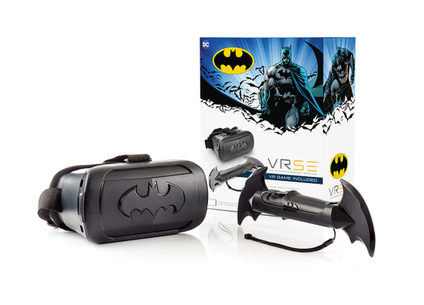 VRSE Batman Virtual Reality Entertainment System with VR Headset