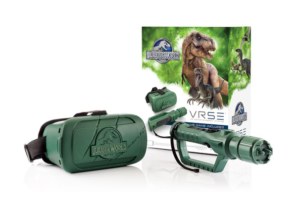 VRSE Jurassic World Virtual Reality Entertainment System with VR Headset