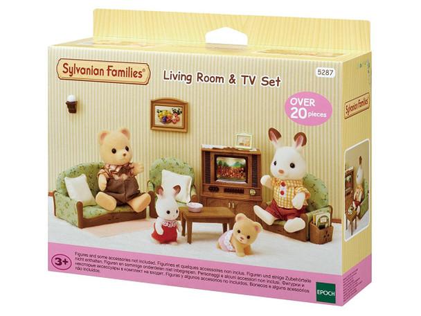 Sylvanian Families Living Room & TV Set