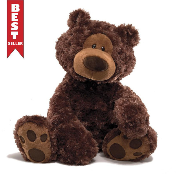 GUND Philbin Chocolate Bear - 33cm