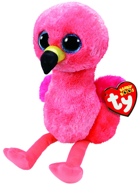 TY Beanie Boos Medium Gilda the Pink Flamingo - 23cm