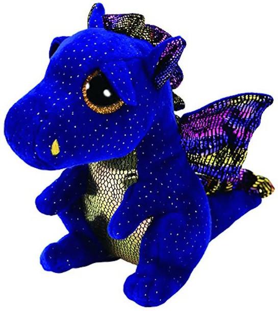 TY Beanie Boos Medium Saffire the Blue Dragon - 23cm