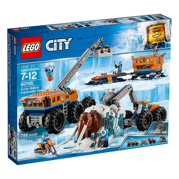 Lego City 60195 Arctic Mobile Exploration Base