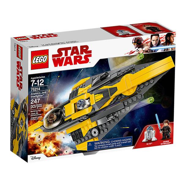 Lego Star Wars 75214 Anakin's Jedi Starfighter