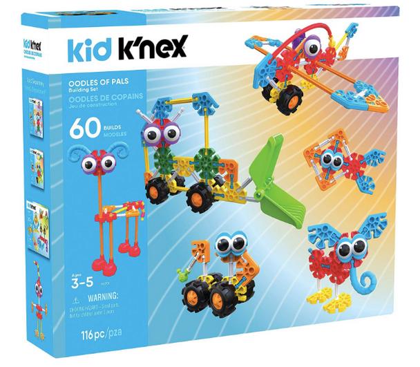 Kid K'NEX Oodles of Pals Building Set - 116 pieces