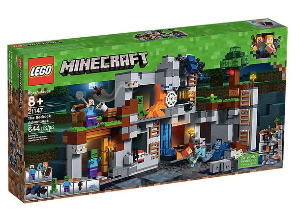 LEGO® Minecraft 21147 The Bedrock Adventures
