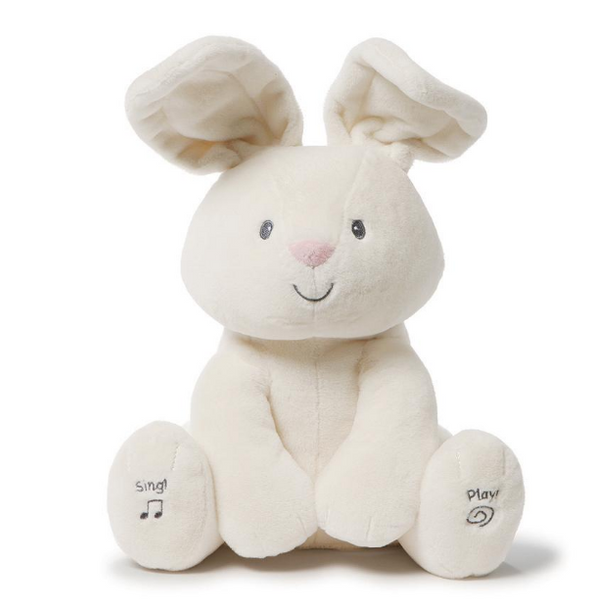 GUND Flora Bunny Animated Plush