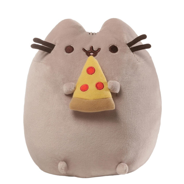 Pusheen with Pizza Plush by GUND 24cm