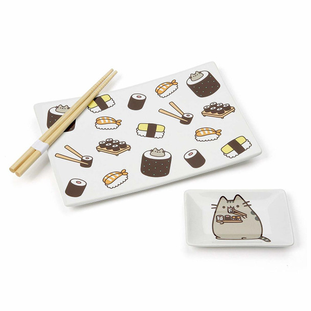 Pusheen Sushi Set with Chopsticks