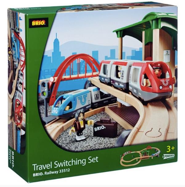 BRIO World Travel Switching Set
