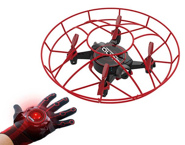 Aura Drone Telekinetic Drone with Gesturebotics Glove Controller (AURADR)