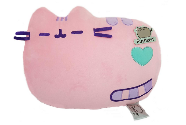 Pusheen Cushion Lying Pastel Pink 36cm