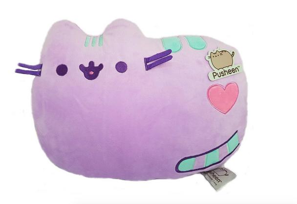 Pusheen Cushion Pastel Purple 36cm
