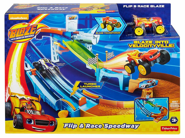 Blaze and the Monster Machines Flip & Race Speedway