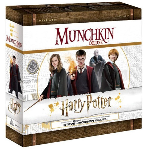 Munchkin Harry Potter Deluxe Card Game