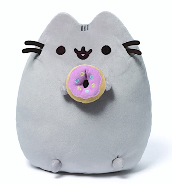 Pusheen with Donut Plush by GUND 24cm