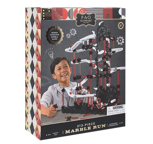 FAO SCHWARZ Ultimate Marble Run 313 Pieces