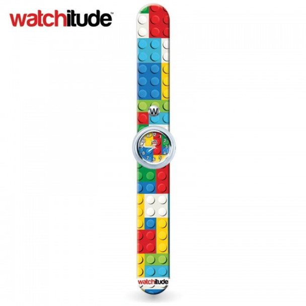 Watchitude Slap Watch Brick Print - #388 Build Up