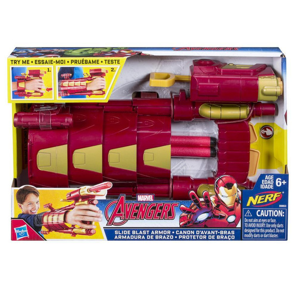 Hasbro B9953AS00 Marvel Iron-Man Slide Blast Armor