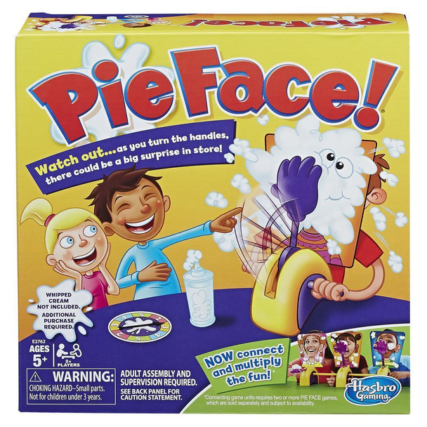 Hasbro E27620000 Pie Face Game