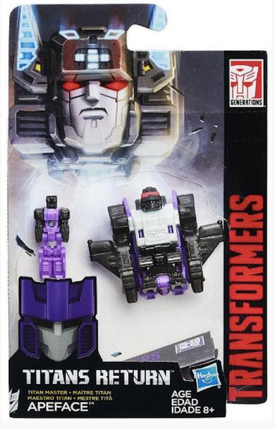 Hasbro Transformers Generations Titan Master Apeface- 1.25 inches