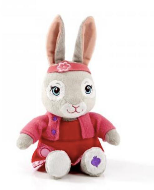 Peter Rabbit Talking Lily Plush