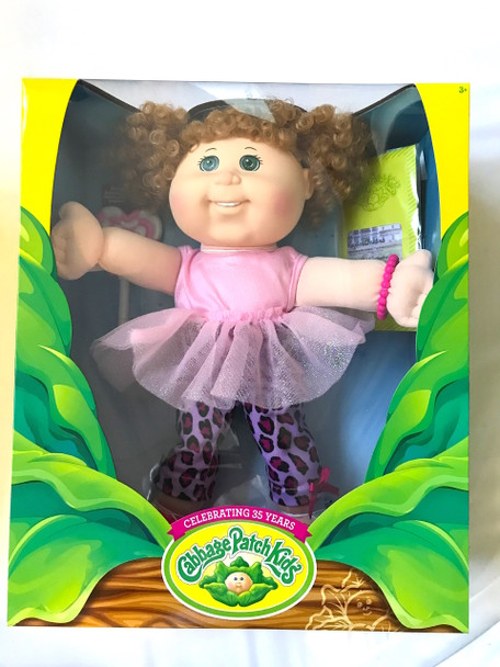 Cabbage Patch Sweet Interaction Doll Pink Sparkle Dress - 35cm