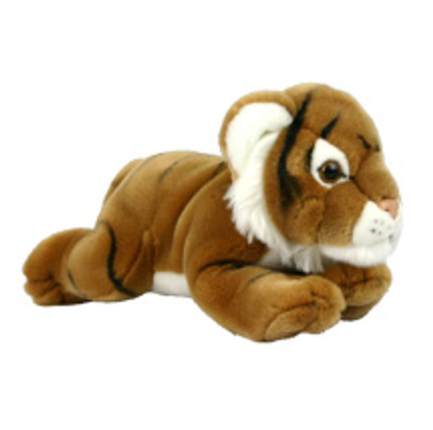 Gold Tiger Lying Down by Korimco - Giant 76cms
