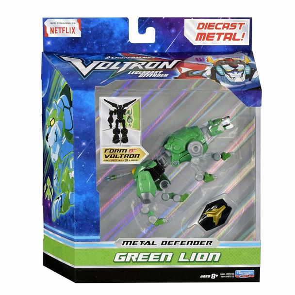 Voltron Green Lion Die Cast Figure