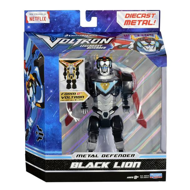 Voltron Black Lion Die Cast Figure