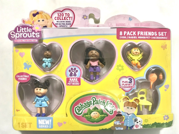 Cabbage Patch Little Sprouts 8 Pack Friends Set