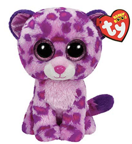 Beanie Boos Glamour the Pink Leopard 23cm - Medium by TY