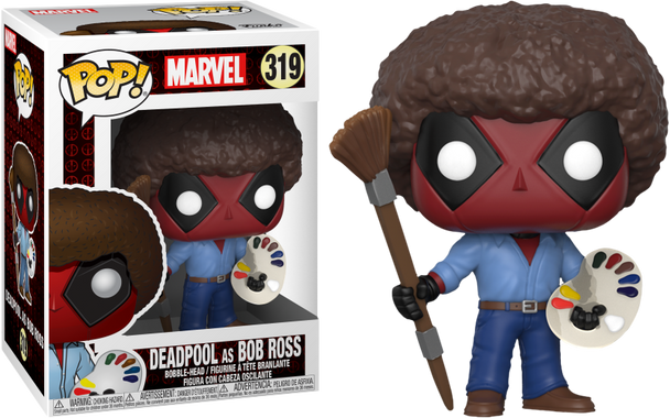 Playtime Bob Ross Pop! Vinyl #319 (30865)