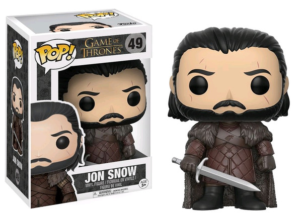 Jon Snow Season 7 Game of Thrones Pop! Vinyl #49