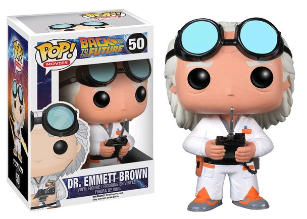 Dr. Emmett Brown Back to the Future Pop! Vinyl #50