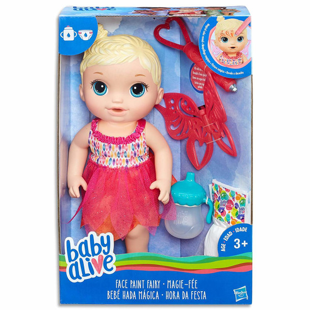 Hasbro Baby Alive Face Paint Fairy - Blonde