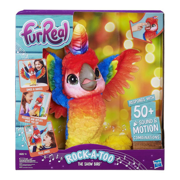 FurReal Friends Rock-a-too the Show Bird