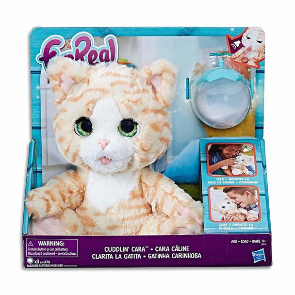 FurReal Cuddlin Cara Kitty